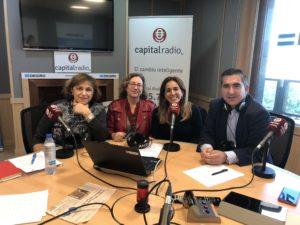 Begoña Pérez, Marta García, Melisa Rojas Francisco García Cabello