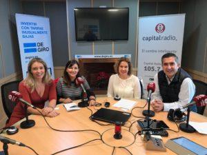 Marisa Cruzado, Carmen Carvajal, Isabel Vallejo de la Fuente y Francisco García Cabello