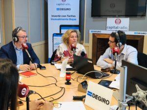 Javier Zubicoa, Susana Toril y Francisco de la Calle