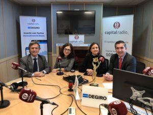 Tomás Pereda, Elena Giménez, Montse Ventosa y Francisco García Cabello