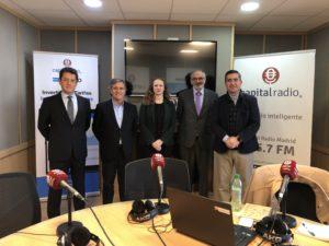Juan Carlos Pérez Espinosa, Tomás Pereda, Nina Heindrichs, Federico Montilla y Francisco García Cabello
