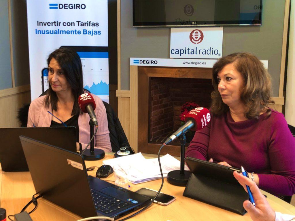 Elena Cascante y Ángeles Alcázar