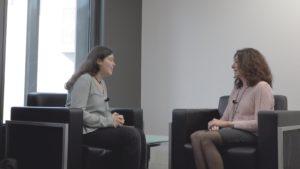 Laura Escudero y Ángeles González Vigil