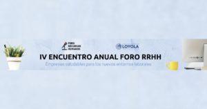 IV Encuentro Foro RRHH Andalucía