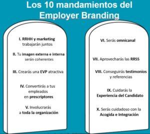 10 mandamientos del Employer Branding