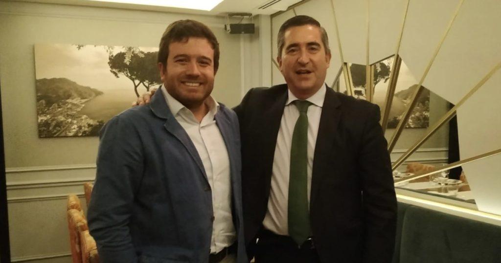 Ignacio Travesí y Francisco García Cabello