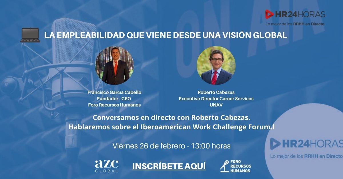 Roberto Cabezas Ríos.